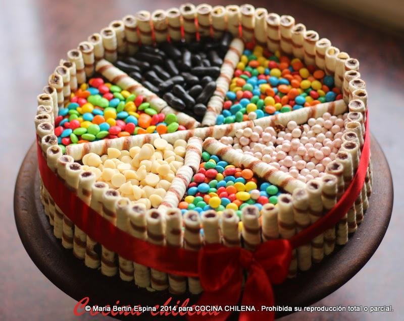 4 torta barquillo blog for Como decorar una torta facil y economica
