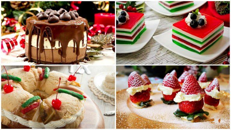 12 Recetas De Postres Navidenos Deliciastv Blog - Postres-navideos