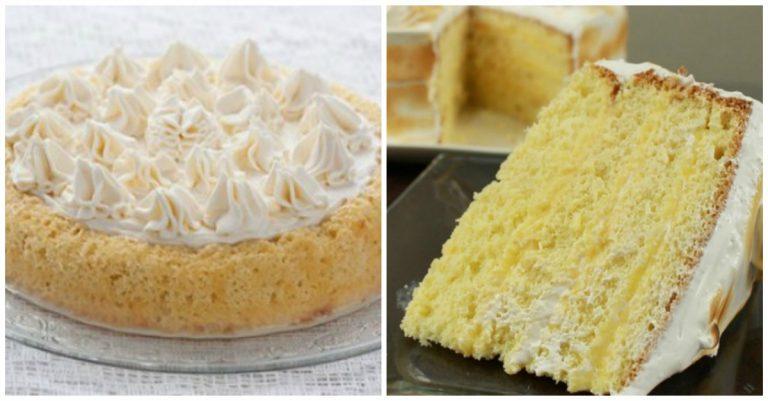 receta de torta tres leches de 1 kilo