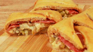 Stromboli de pizza