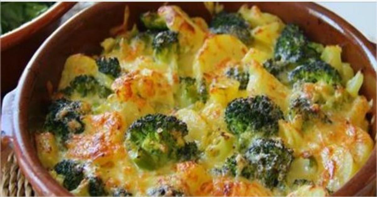 preparar brocoli gratinado