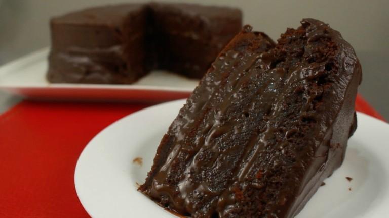 torta de de chocolate